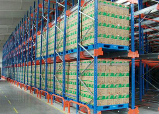 China Warehouse Racking Shelves use Pallet Runner or Radio Shuttle on Pathway supplier