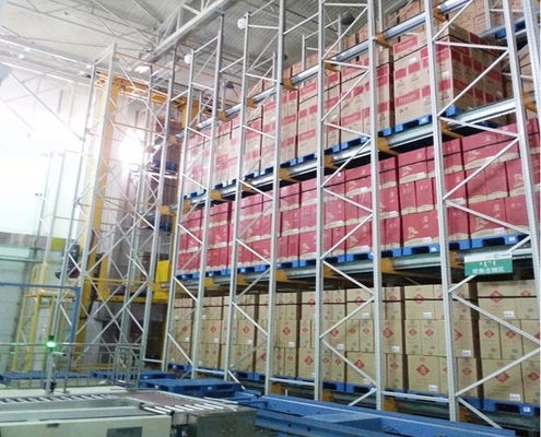 China Multi Storey Elevated Automatic Storage System , ASRS Selective Racking System supplier