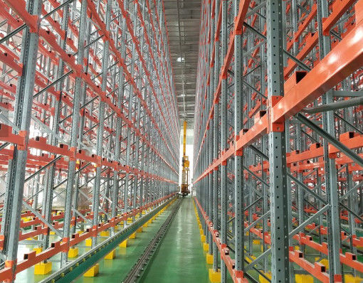 China Rail Guided Vehicle ASRS Automated Storage Retrieval System Custom Height supplier
