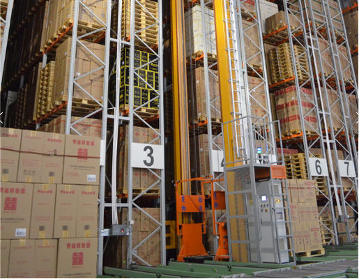 China Professional Warehouse Vertical Racking System , ASRS Automated Vertical Storage System supplier