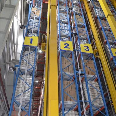China ASRS Automated Storage And Retrieval System Robot Welding10 - 30m Height supplier