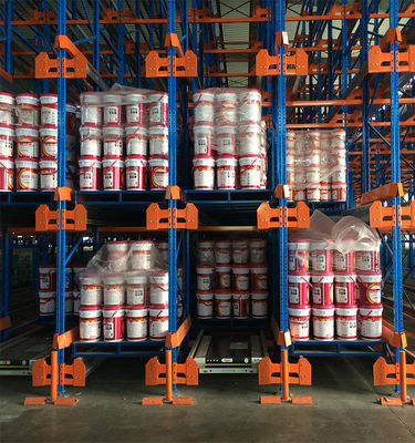 China Automatic Racking and Shelf Pallet Shelving Roll Storage Rack Radio Shuttle Racking System supplier